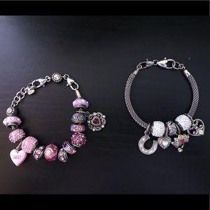2 Brighton Charm Bracelets 💕
